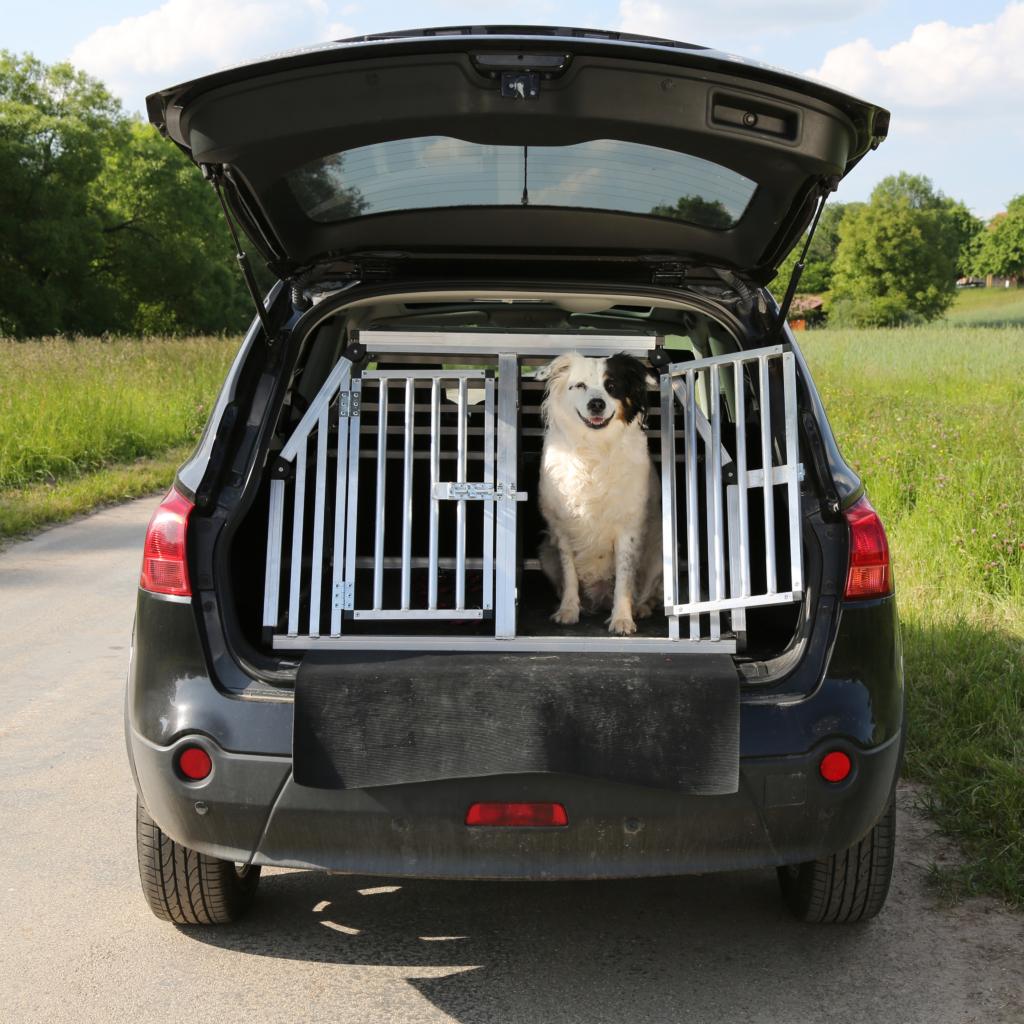 Hunde Transportbox Alu