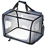 SONGMICS Hundebox Transportbox faltbar Oxford Gewebe 60 x 40 x 40 cm PDC60Z - 8