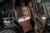 Dogstyler® Excelsior für die Rückbank White Baron S - L Hundebox Kunstleder Hundesitz Hund im Auto