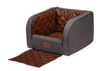 Dogstyler® Landart für die Autositze Mix Earl XS - S Hundebox Kunstleder Hundesitz